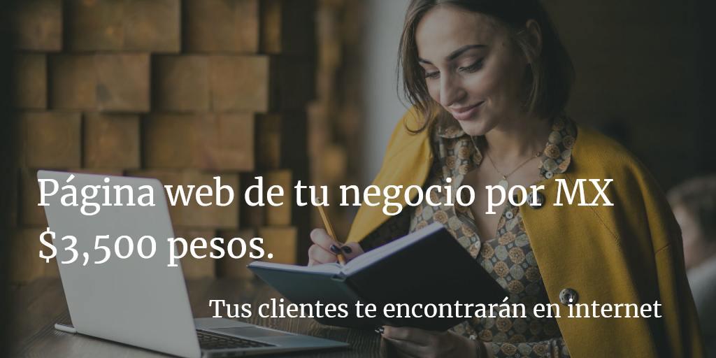 Sitio web mujer emprendedora